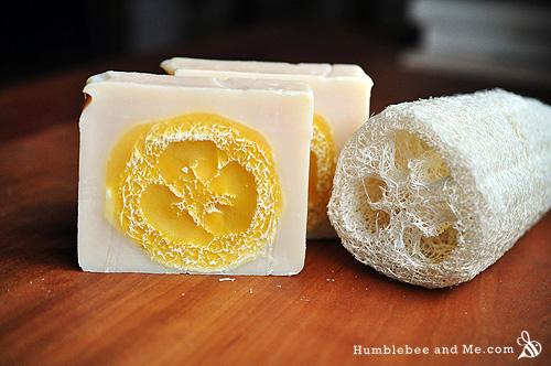 Как приготовить мыло из люфы