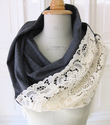 DIY Infinity Scarf (from an old T-shirt) - Humblebee & Me