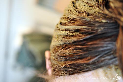 Морская водоросль - Глиняная маска для волос