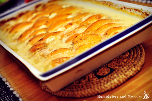 Smokey Sweet Potato Gratin