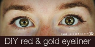 Red & Gold Clay Eyeliner