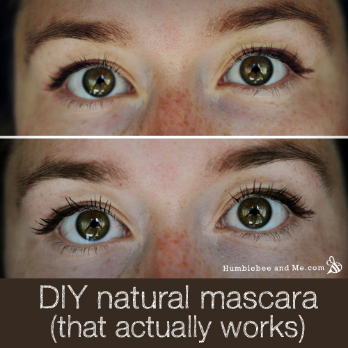 How to make DIY Natural Clay Mascara (that actually works)