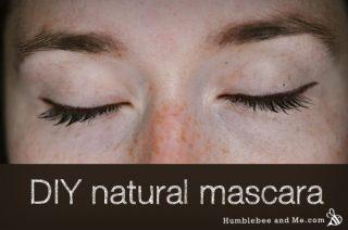DIY Natural Clay Mascara (that actually works)