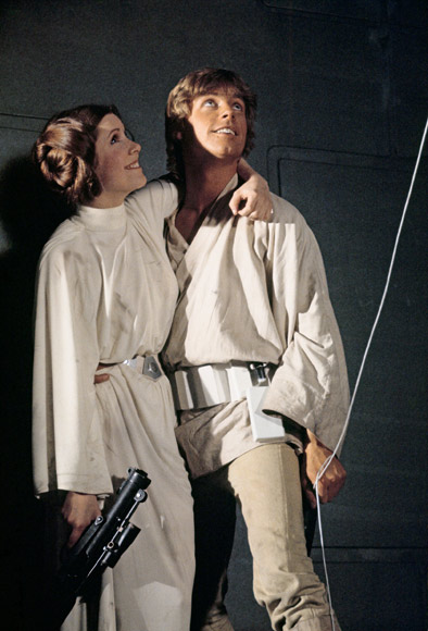 The original Luke & Leia...