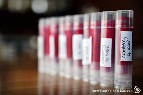How to make Cranberry Lip Balm