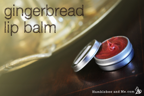 How to make Gingerbread Lip Balm