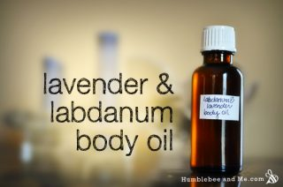 Lavender & Labdanum Body Oil
