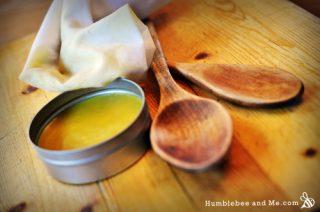 Orange Wax Wood Polish