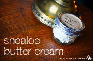 Homemade Shealoe Butter Cream