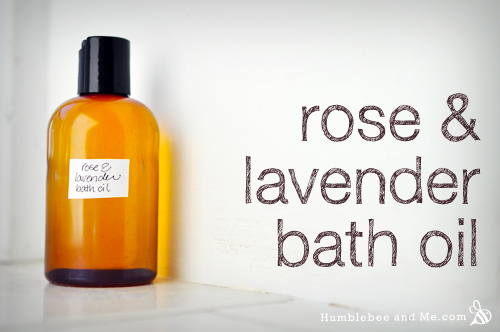 Rose & Lavender Bath Oil