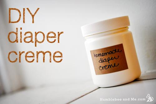 Homemade Diaper Creme