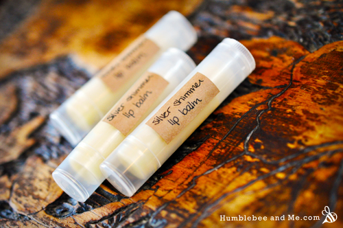 How to Make Silver Shimmer Lip Balm