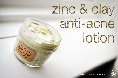 Zinc & Clay Anti-Acne Lotion