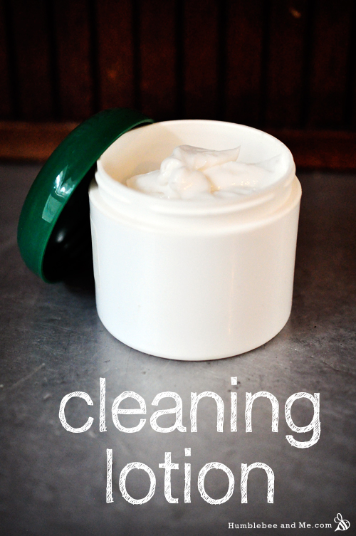 Lemon Cream Cleaning Lotion