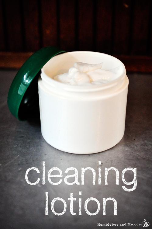 Lemon Cream Cleaning Lotion