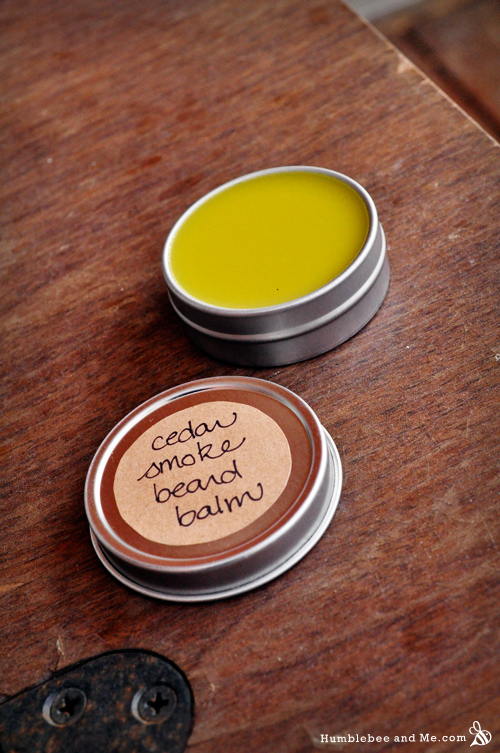 How to make Cedar Smoke Beard Balm