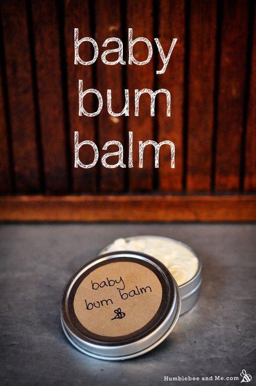 How to Make Baby Bum Balm