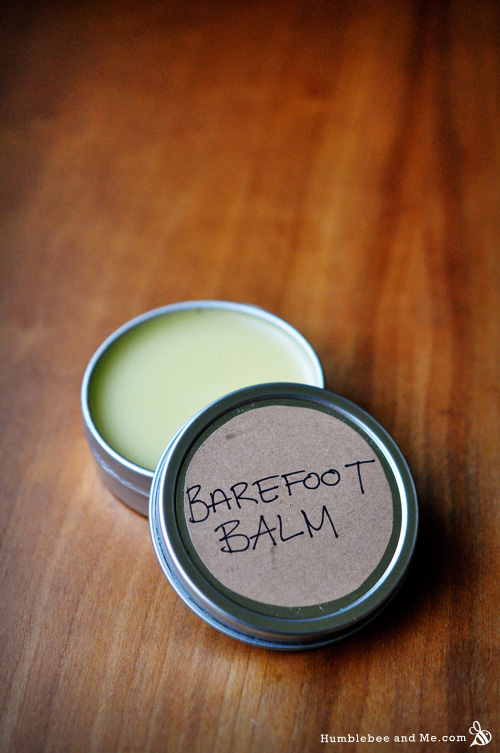 How to Make Barefoot Balm