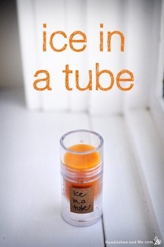 Ice in a Tube