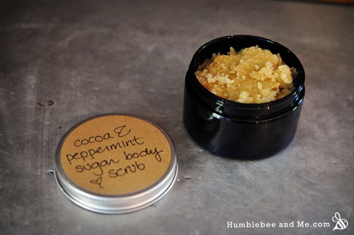 Peppermint & Cocoa Sugar Body Scrub