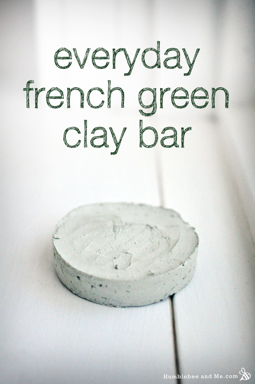 How to Make a Everyday French Green Clay Bar