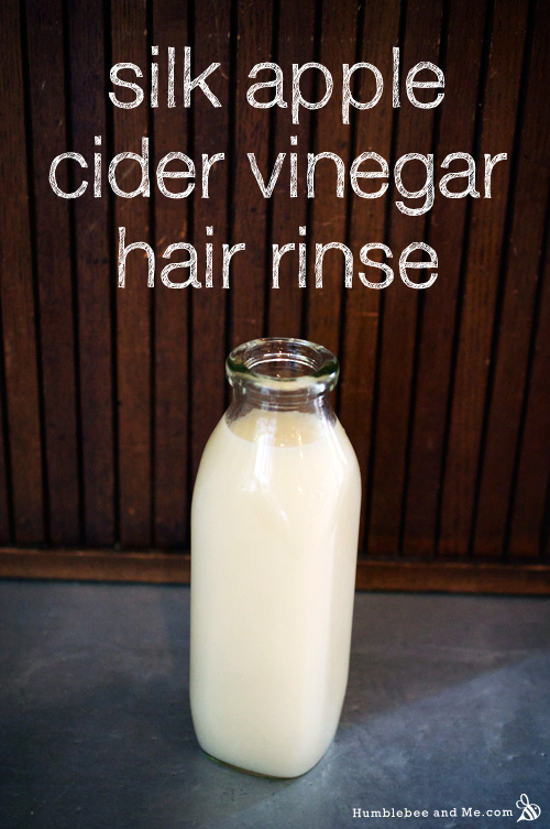 Silk Apple Cider Vinegar Hair Rinse Humblebee Amp Me