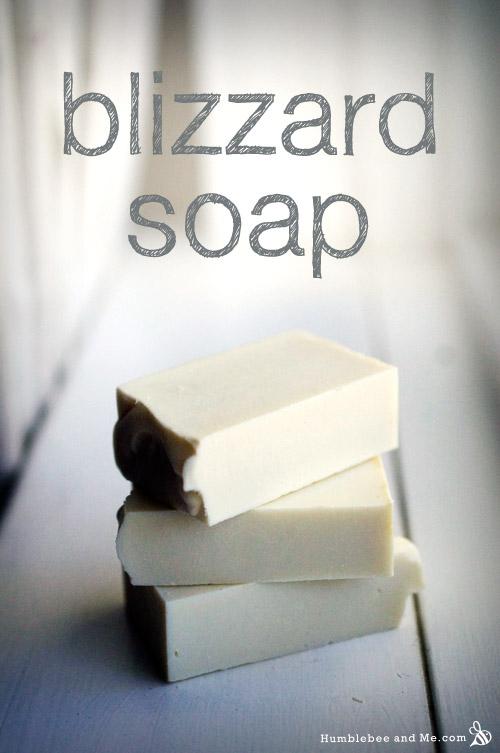 Blizzard Soap