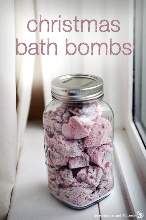 Christmas Spice Bath Bombs - Humblebee & Me