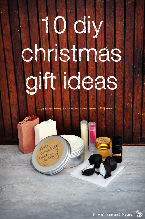diy christmas gift ideas humblebee me