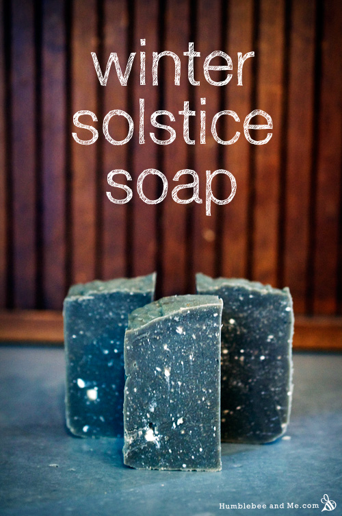 Winter Solstice Soap