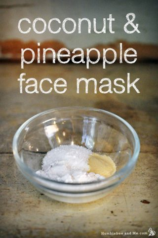 Coconut & Pineapple Face Mask
