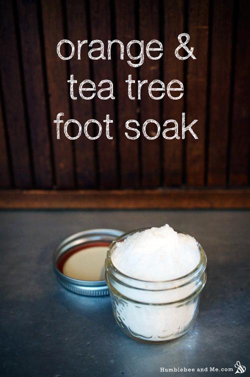 Апельсин - Чайная лапка для ног