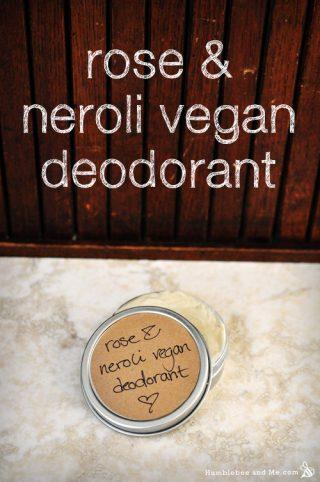 Rose & Neroli Vegan Deodorant