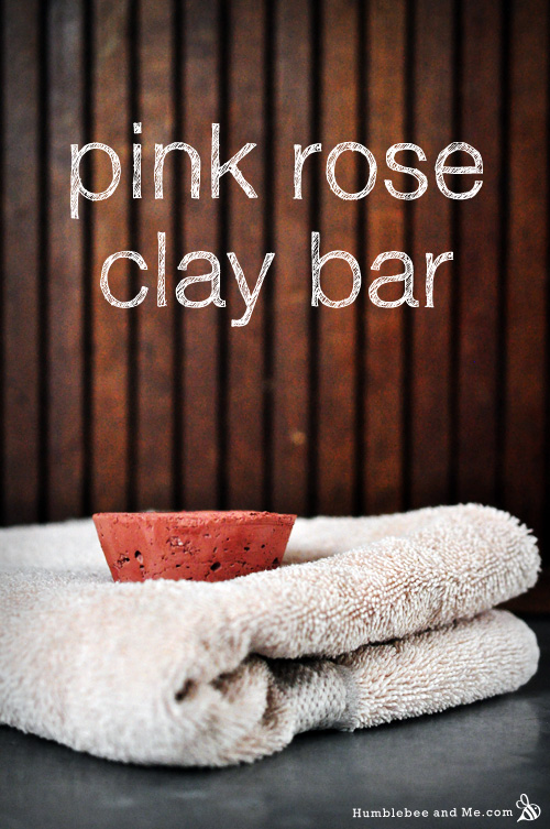 How to Make a Pink Rose Clay Bar