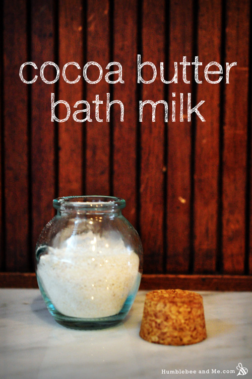 Cocoa Butter Bath Milk