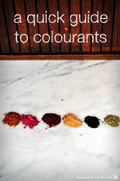 A Quick Guide to Colourants
