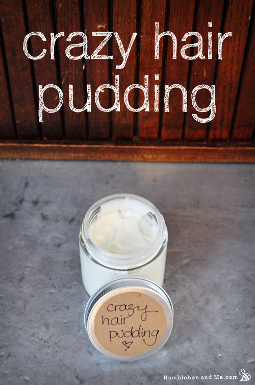 How to make Crazy Hair Pudding