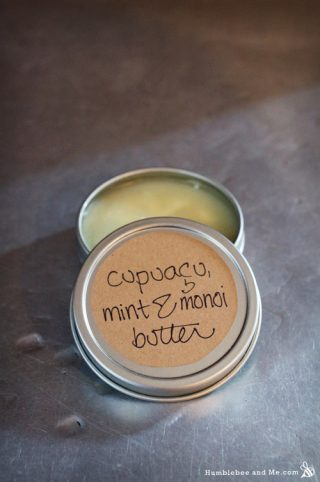 Cupuacu, Mint, and Monoi Body Butter