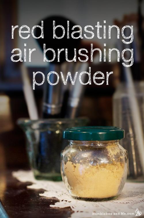 Red-be-Gone Airbrushing Powder