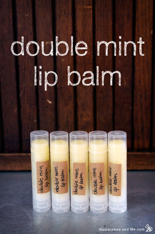 How to Make Double Mint Lip Balm