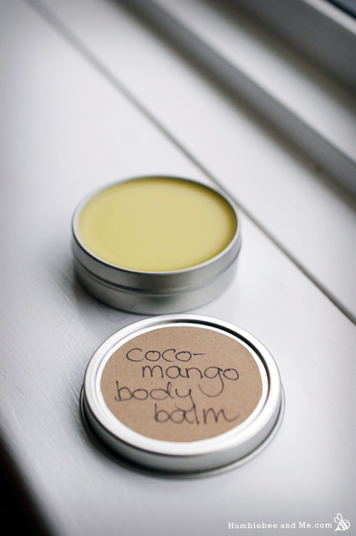 How to Make Coco Mango Body Balm