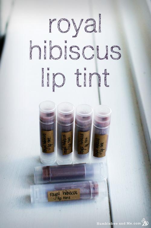 Royal Hibiscus Lip Tint - Humblebee & Me
