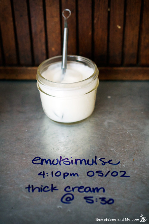A Quick Guide to Different Emulsifying Waxes - Humblebee & Me
