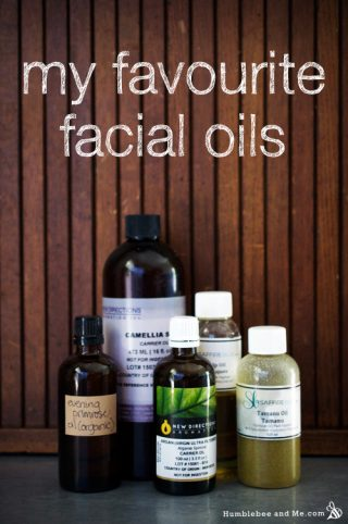 My Favourite Oils for the Face