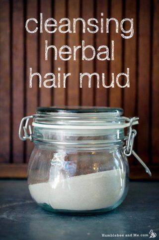 Cleansing Herbal Hair Mud
