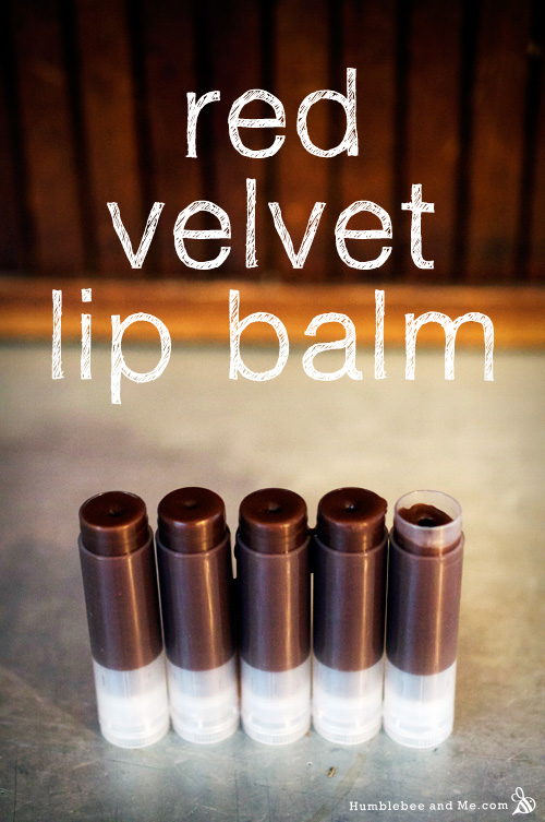 How to make Red Velvet Lip Balm
