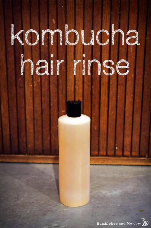 Kombucha Hair Rinse