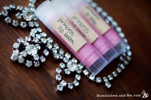 How to Make Princess Lip Balm