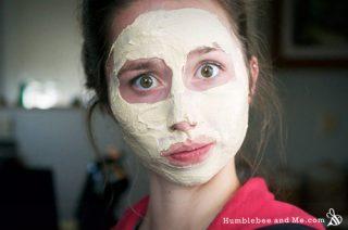 Pumpkin Pie Face Mask