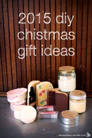 DIY Homemade Christmas Gift Ideas: 2015 Edition